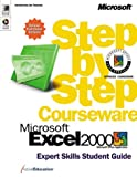 Microsoft Excel 2000 Step by Step Courseware Expert Skills, ActiveEducation, 0735607095