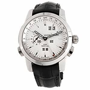 Ulysse Nardin Perpetual Manufacture automatic-self-wind mens Watch 329-10 (Certified Pre-owned)