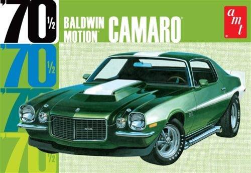 AMT AMT855/12 1/25 Baldwin Motion 70 Chevy Camaro Drk Grn (Model Cars Kits To Build Camaro)