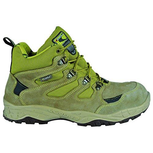 """Cofra 22300–000.w47taglia 47S1P SRC """"Crevasse sicurezza scarpe, colore: grigio/verde"""