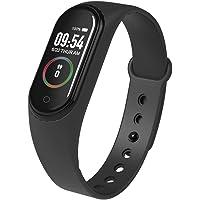 Gecheer Smart Bracelet Blood Oxygen Saturation & Temperature & Blood Pressure & Heart Rate Monitor Fitness Tracker Two…