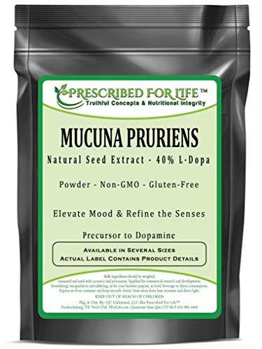 Mucuna Pruriens - Natural Seed Extract - 40% L-Dopa Powder, 1 kg