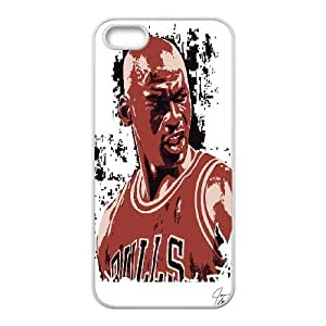 Custom High Quality WUCHAOGUI Phone case Super Star Michael Jordan Protective Case For Apple Iphone 5 5S Cases - Case-4