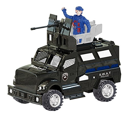 Police SWAT Truck Vehicle with Lights & Sounds (Armored Truck)