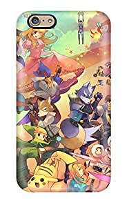 Dana Diedrich Wallace's Shop New Style 9506191K76512124 Hot Style Protective Case Cover For Iphone6(brawl Video Game)