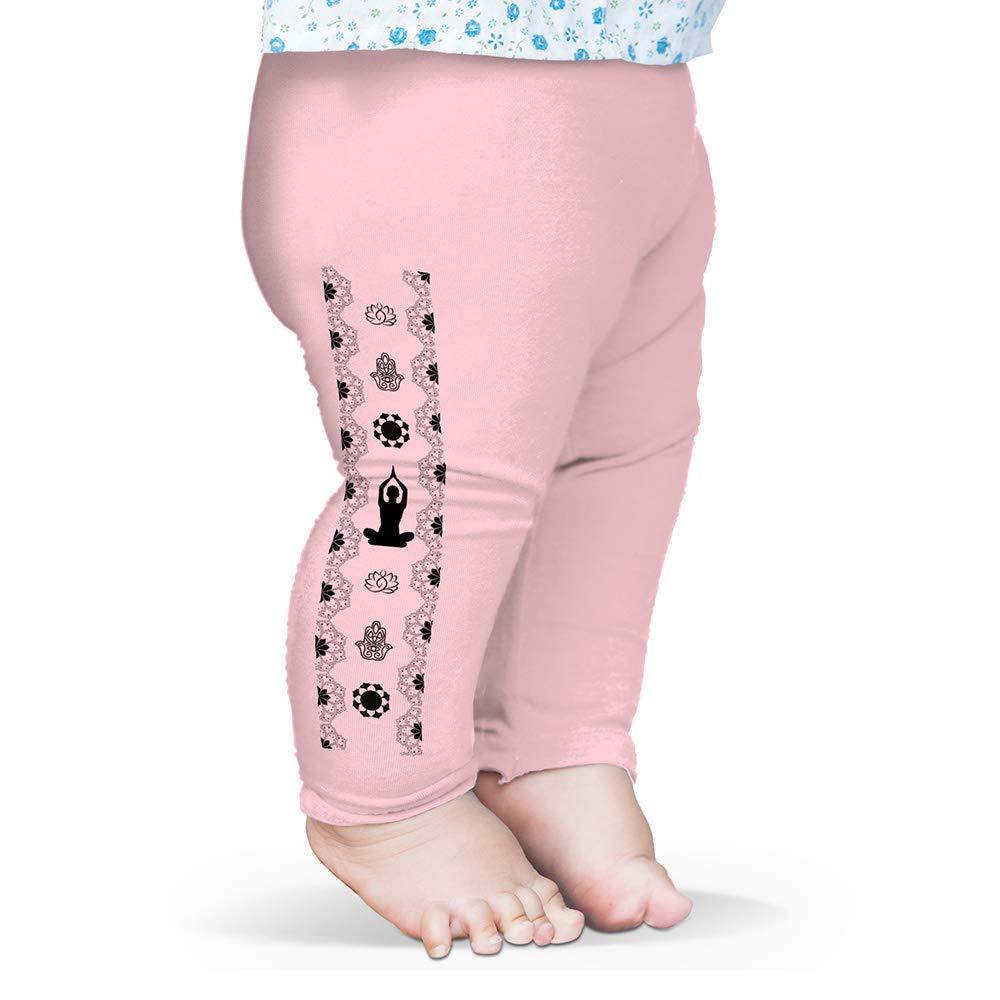 TWISTED ENVY Baby Leggings Yoga Hamsa