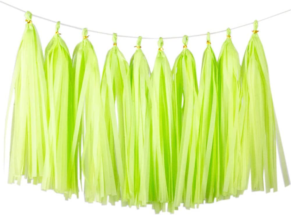 Green Show Stick Navy /& Lime Tassel
