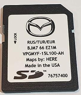 Mazda Connect Navigation Karte SD Navteq 2017/2018 neuesten Map
