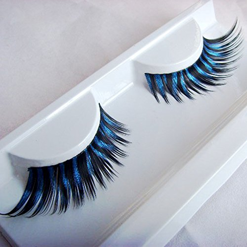 Spritech(TM) Fancy Feather False Eyelashes for Artistic Dance Costume (Artistic Dance And Costumes)