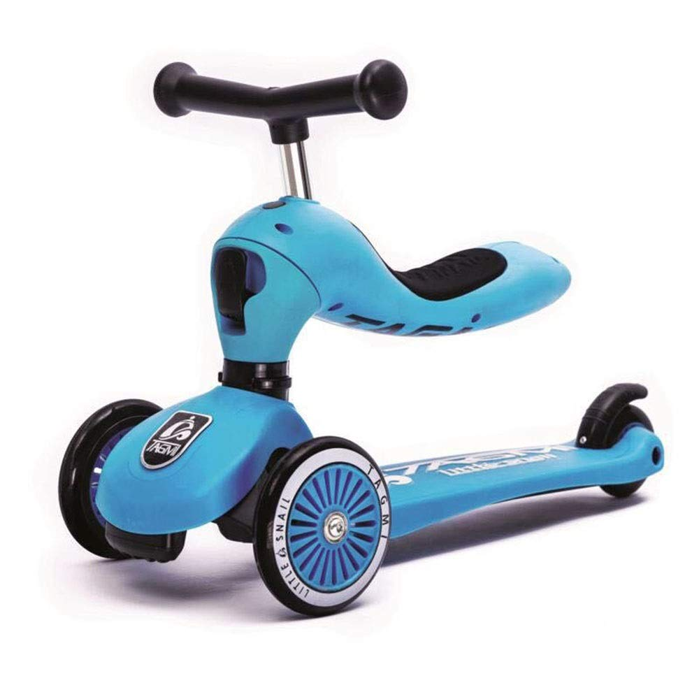 割引 Shioya house 子供のツーインワン3輪スクーター、高さ調節可能、持ち運びが簡単、子供の誕生日プレゼントに最適 Color B07QXJG3QL ご愛顧ありがとうございました house ( Color : Blue ) B07QXJG3QL, 八重山郡:5e357e39 --- svecha37.ru