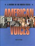American Voices, Carol Berkin, Alan Brinkley, 0673351769