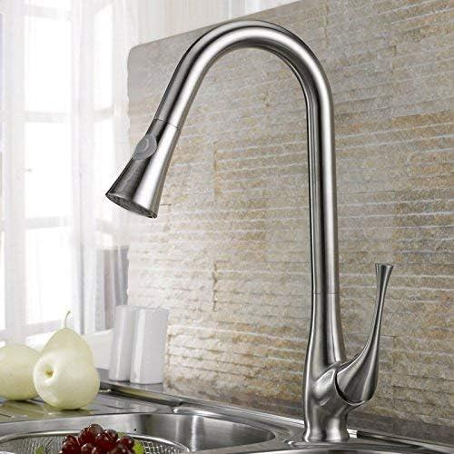 SYF-SYF すべての銅プルタイプ台所の蛇口、蛇口、食器盆地の蛇口、現金引き出し 蛇口