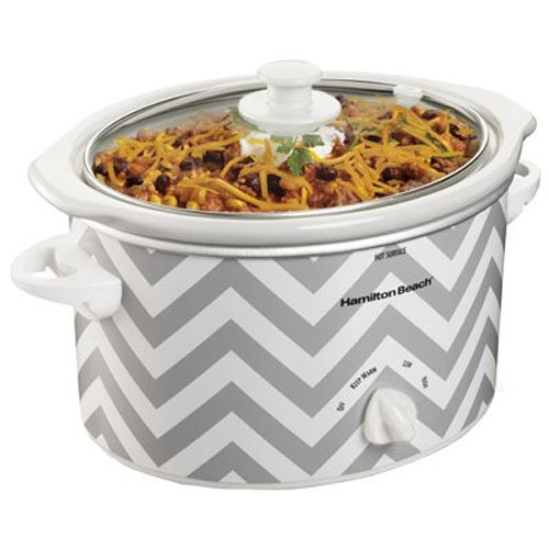 Hamilton Beach Cooker 3 Quart Chevron