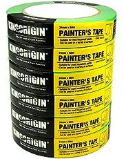 Malerband für einfache Malerarbeiten, 6er Pack, 50m x 24mm
