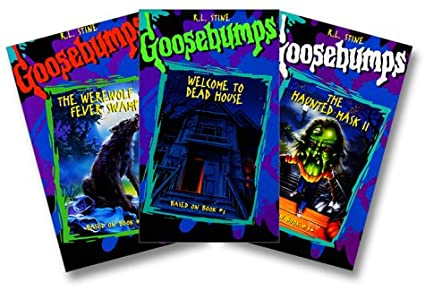 Amazon com: Goosebumps Gift pak: The Werewolf of Fever Swamp
