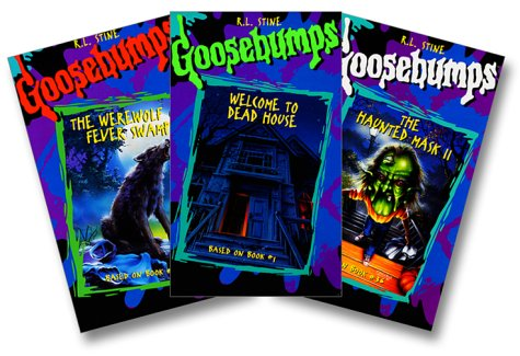 Goosebumps Gift pak: The Werewolf of Fever Swamp, Haunted Mask 2, Welcome to Dead House -