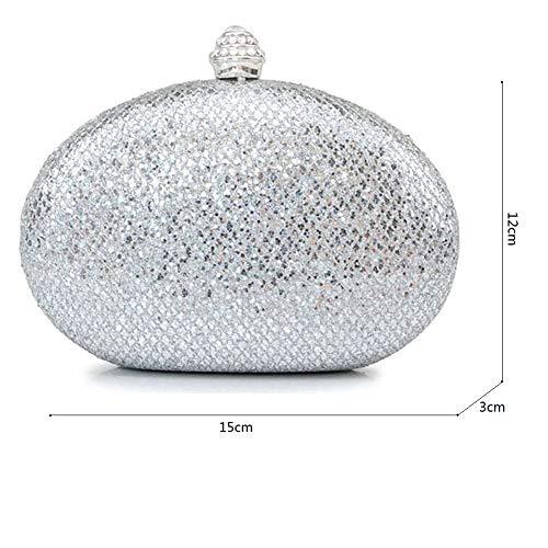 Bal Classique B 15x12cm de Présente pour Pochette Paillettes soirée Mini fériés 6x5inch Sacs de B à Main Et d'autres Jours Sac Brille Soirée soirée w6xYqwR
