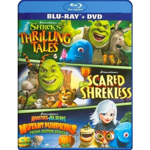 DreamWorks Spooky Stories (Two-Disc Blu-ray/DVD Combo)]()
