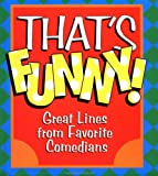That's Funny, Cader Books Staff and Cader Books, 0836278550