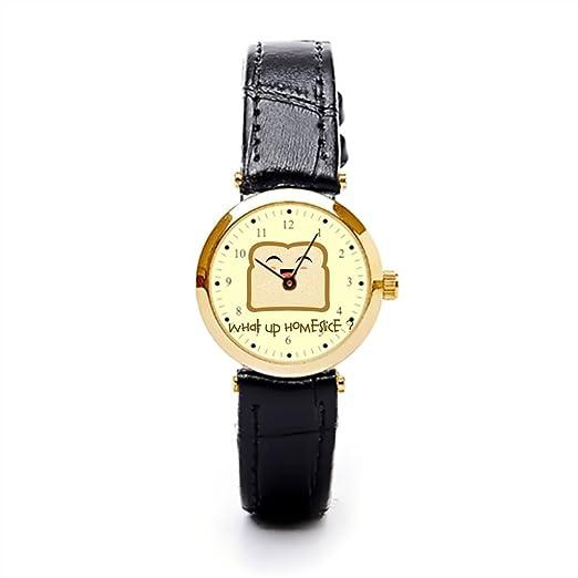 hiyane - Reloj de pulsera para mujer Homie tostadas muñeca relojes Marcas: Amazon.es: Relojes