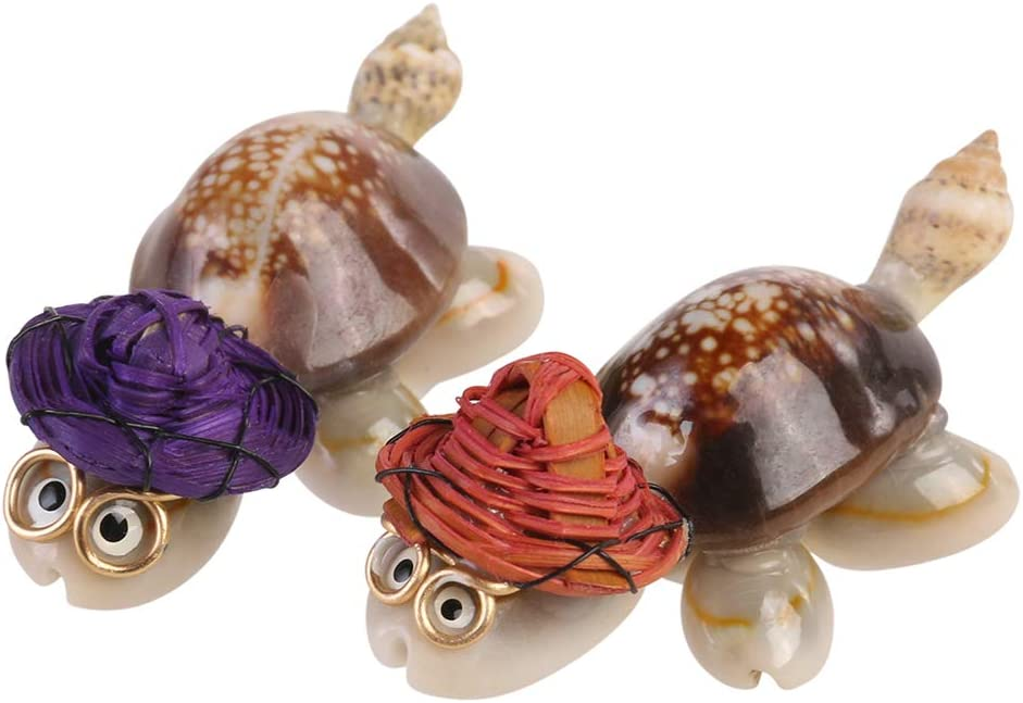 Toyvian Dr Turtle Figurines Tortoise Figures Sea Animals Figurines Sets for Fairy Garden Miniature Ornaments Kit Terrarium Statue Bonsai Dollhouse Decoration 10pcs (Assorted)