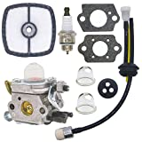 FitBest Carburetor Kit for Zama C1U-K42, C1U-K42B Echo PB2100 Handheld Leaf Blower 12520020562 12520020560 12520020561 Carb