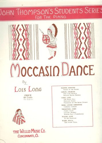 Moccasin Dance - John Thompson's Students Series for the Piano