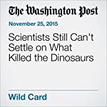 Scientists Still Can't Settle on What Killed the Dinosaurs | Rachel Feltman