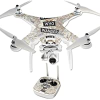 Skin For DJI Phantom 3 Professional – Who Wander | MightySkins Protective, Durable, and Unique Vinyl Decal wrap cover | Easy To Apply, Remove, and Change Styles | Made in the USA