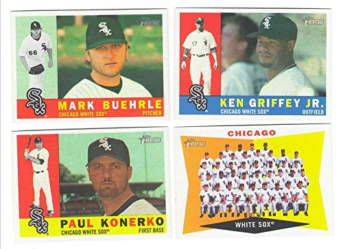 Sox 2009 Team Set - 2009 Topps Heritage (base set) - CHICAGO WHITE SOX Team Set