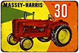 """Massey-Harris """"30"""" Tractor Vintage Look Reproduction 8x12 Sign 8121458"""