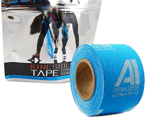 Formula Roll (AI Kinesiology Tape (w/ Pain Relief Formula) Repair & Recovery - 2 in x 16 ft - (One Roll))