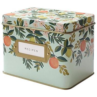Rifle Paper Co. Recipe Box - Citrus Floral