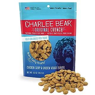 Charlee Bear Chicken Soup & Garden Veggie Dog Treats 16 oz. bag