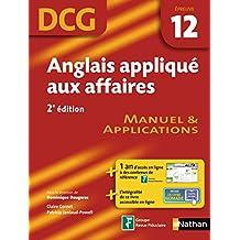 Anglais appliqué aux affaires - épreuve 12 - DCG manuel (EXPERT COMPTA) (French Edition)