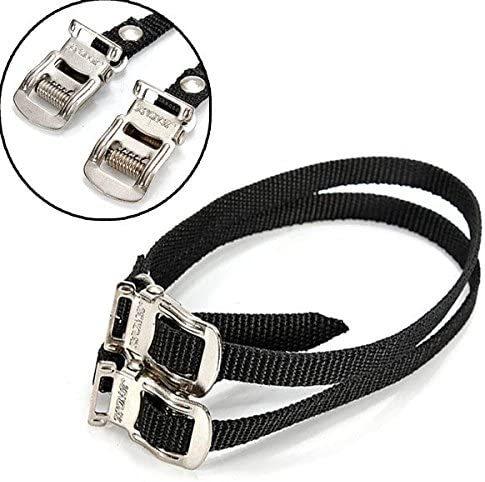 Pedals Accessories Bike Cycling Pedal Nylon Straps Pedal Toe Straps Clip
