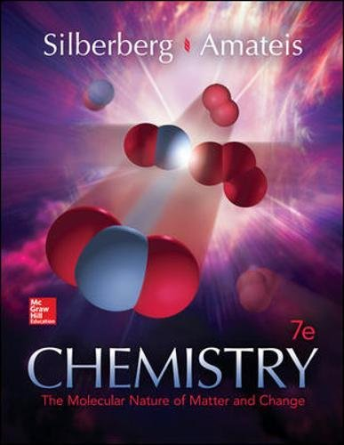 Chemistry: The Molecular Nature of Matter and Change - Standalone book (9780073511177)