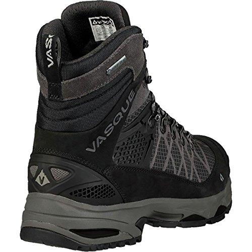 Black Backpacking Vasque Saga Magnet GTX Waterproof Mid Boots Men's Jet 8xTwxqCF