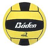 Baden Lexum Official Size 5 Deluxe Rubber Water Polo Ball, Black/Yellow