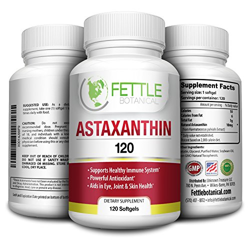 Astaxanthin Supplement Antioxidant Fettle Botanical