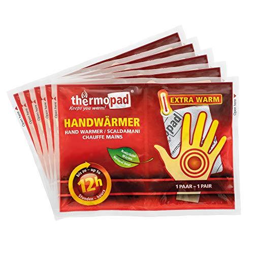 THERMOPAD Handwärmer, 5 Paar, 12 Stunden Wärme, extra warm