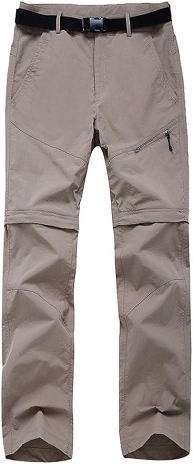 SANKE Pantalons en étuvage pour Femmes à l'épreuve des Femmes Pantalons imperméables en Plein air Shorts pour la randonnée