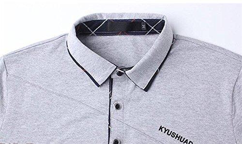 ポロシャツ メンズ ゴルフウェア 半袖 Tシャツ 上着 GAYATO スポーツ シンプル カジュアル おしゃれ 父の日ギフト 春 夏 秋 プレゼント 全5色