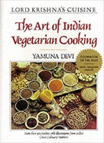 Book Lord Krishna's Cuisine: Art of Indian Vegetarian Cooking