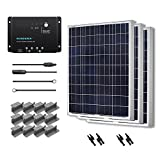 Renogy 300 Watt 12 Volt Polycrystalline Solar Starter Kit with Wanderer