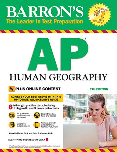 Pdf Teen Barron's AP Human Geography with Online Tests