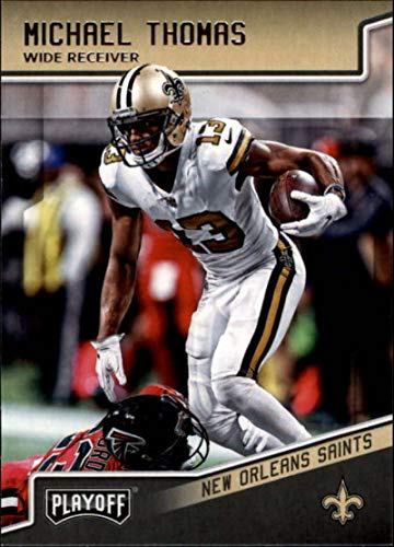 1aae9cf0a Amazon.com  2018 Panini Playoff  134 Michael Thomas New Orleans Saints NFL  Football Trading Card  Collectibles   Fine Art