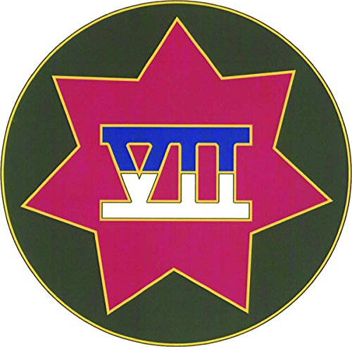 UPC 720345174203, 7th Corps CSIB - Combat Service Identification Badge