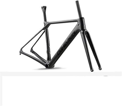 HNXCBH Cuadro Bicicleta Marco de Camino del carbón del Freno ...