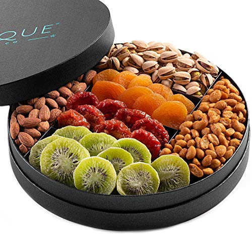 (Gourmet Nut and Dried Fruit Gift Tray - 10